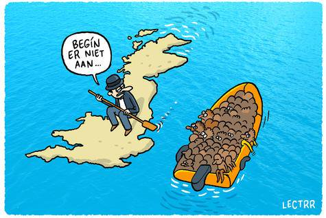 Cartoon Brexit