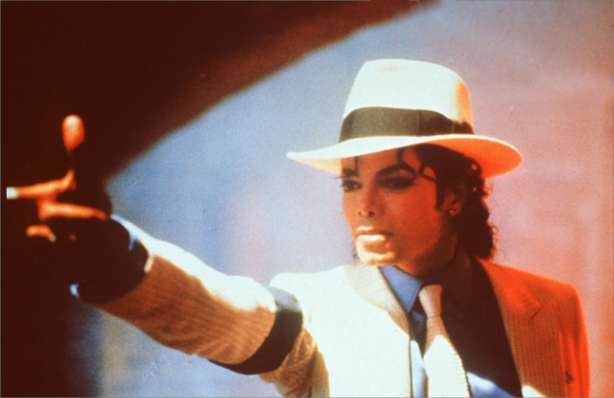 Foto Michael Jackson als The Smooth Criminal