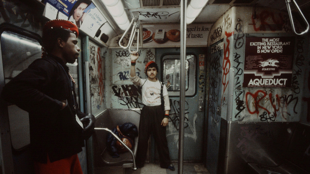 Graffiti subway New York